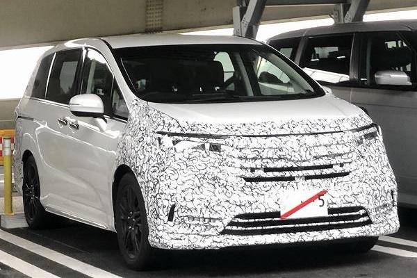 久違的改款 新 Honda Odyssey 實車首度現身!