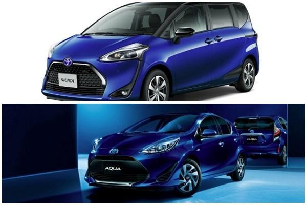 幫 MPV、油電小車增賣相,Toyota Sienta、Aqua 新年式登場!