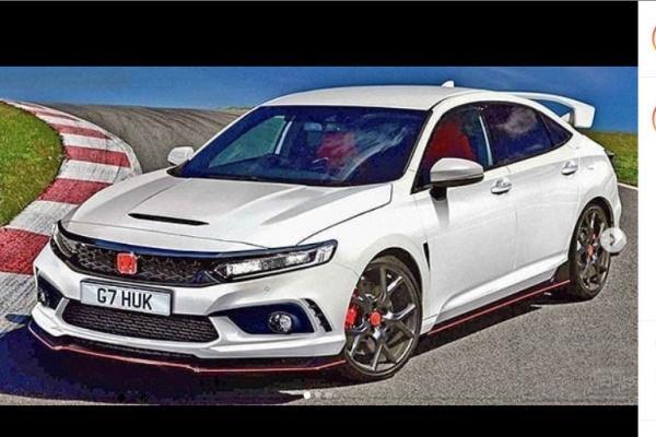 以測試車為基礎繪製,第 11 代 Civic Type R 外觀變更具侵略感!