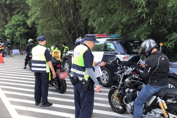 六甲山區改裝重機擾民 台南警加強稽查幫「健檢」