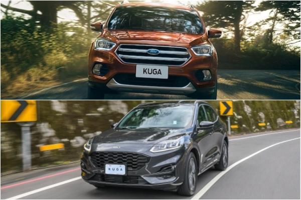 Ford Kuga 大改款新車與前代舊車將同時販售!先前早有類似案例