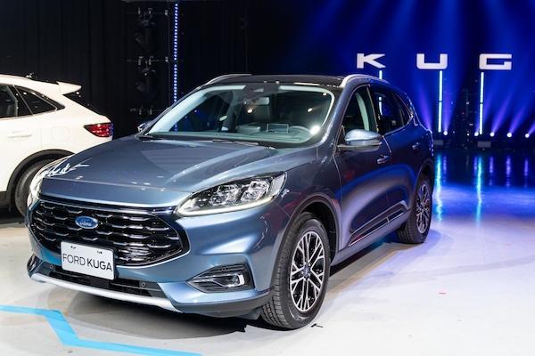 國產休旅唯一銷售成長車款!Ford Kuga 將威脅 Honda CR-V 冠軍寶座?