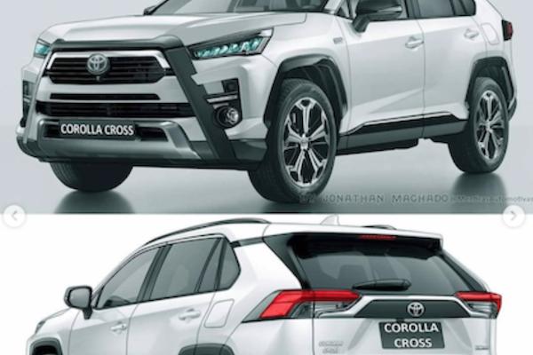 Toyota 最新休旅 Corolla Cross 身材最像誰?3 款歐洲豪華車成比較對象