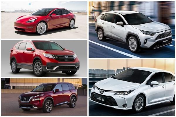 全球 1~4 月銷售戰況:Toyota RAV4 緊追冠軍、Tesla Model 3 成長亮眼!