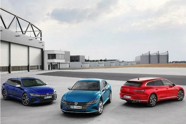 台灣安排今年見!小改款 VW Arteon 正式發表