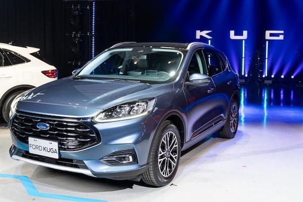 台灣 6 月新車銷售成績揭曉,Kuga 大改款初上市就賣破 900 台!
