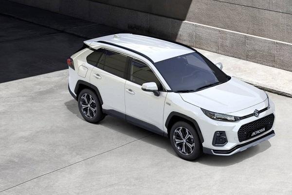 Toyota RAV4 的雙胞胎兄弟,Suzuki 發表 Across 全新中型休旅!