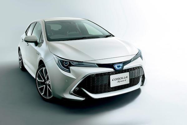 與全球統一改名為 Corolla Sport!Toyota Auris 新年式預備登場