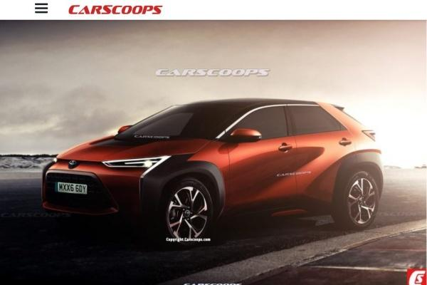 Toyota 全新跨界 SUV 外觀洩漏,造型侵略性十足!