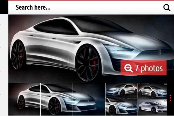Tesla 大改款 Model S 預測外觀出爐 續航力上看 800 公里!