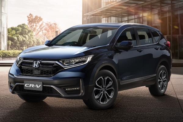 可能是台灣版本的參考指標?Honda CR-V 亞洲小改款發表