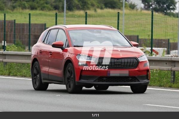 Skoda 首款電動 SUV 疑似路試中!有望明年初亮相
