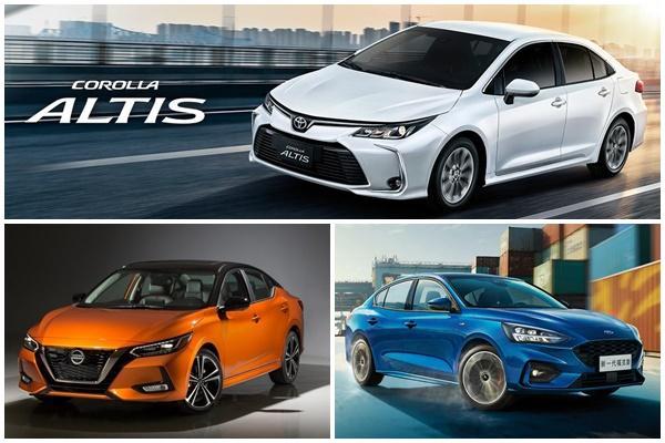 矛頭指向 Altis,新一代 Nissan Sentra、Ford Focus 4D ST-Line 搶今年上市!