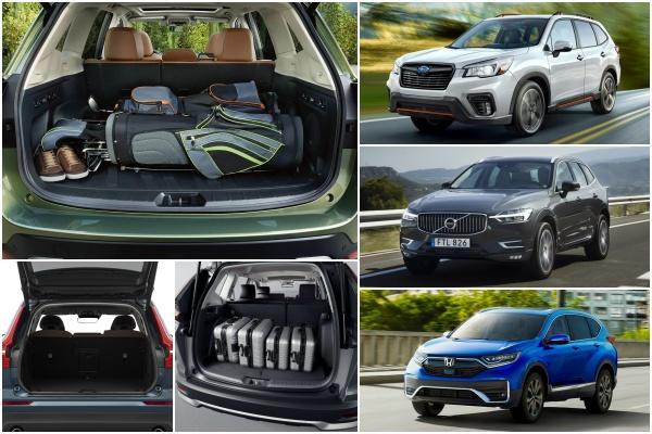 消費者報告實測,這 5 款中型 SUV 行李廂空間最能裝!