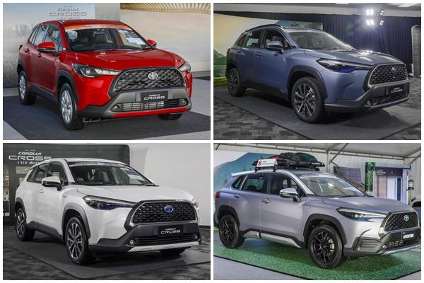 不只有一種外型,Toyota Corolla Cross 細節揭露!〈內有影片〉