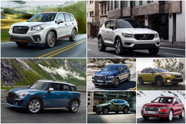 車主最滿意的 7 款中小型休旅,Subaru 兩款上榜表現最佳!