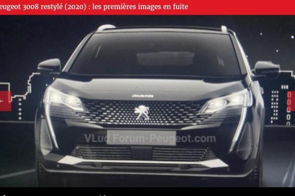 搖身一變成為運動跑旅,全新 Peugeot 3008 外觀改很大!
