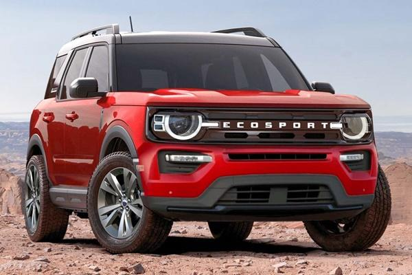 入門休旅將推大改款,新一代 Ford Ecosport 資訊流出!