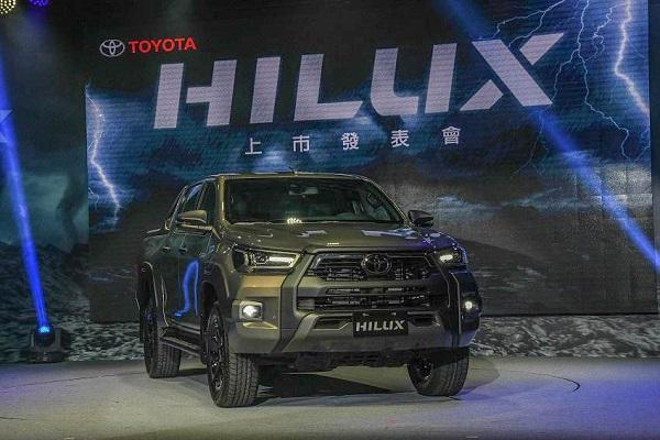 小改添戰力,新 Toyota Hilux 台灣正式發表!