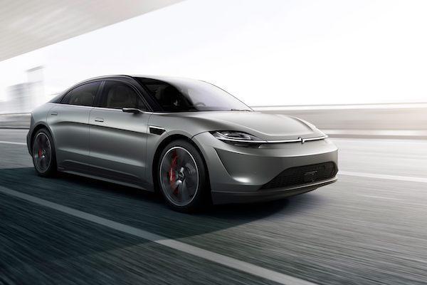 可能是 Tesla 殺手?Sony 首款電動車準備路測(內有影片)