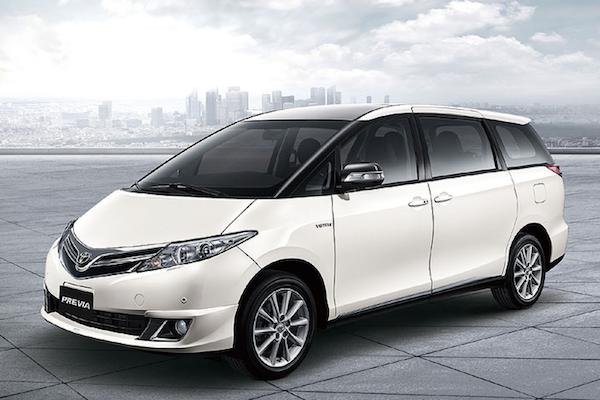結束 19 年銷售期!Toyota Previa 台灣正式停售