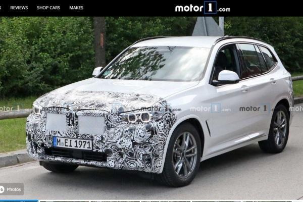 BMW 主力休旅 X3 改款測試中,目標鎖定新一代 GLC!