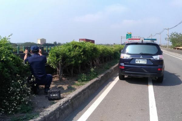 西濱彰化段恢復機動式測速照相 肇事率砍半