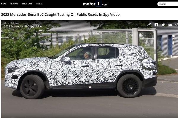 試車影片露了餡!大改款 M.Benz GLC 7 人座新車資訊曝光