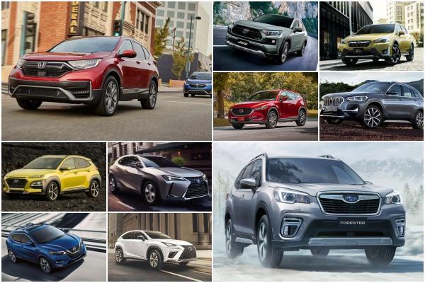 《消費者報告》實測公布:最寬敞、舒適的 10 款中小型 SUV 榜單!