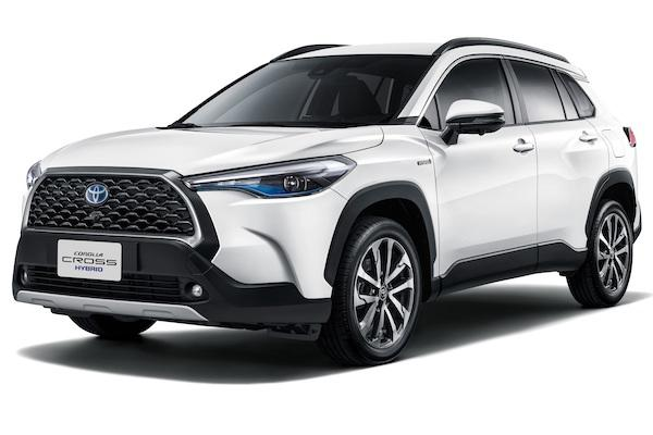 Toyota Corolla Cross 預售 2 天訂單達 1100 張!超越 RAV4 紀錄