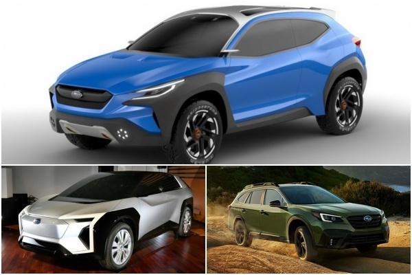 Subaru 多款新車準備登場,新跨界跑旅最受矚目!