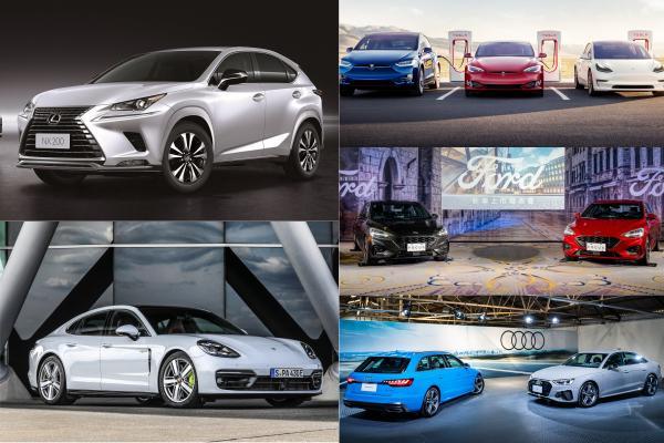 6 家車廠今年台灣銷售成長都超過 10%!其中一家高達 190%