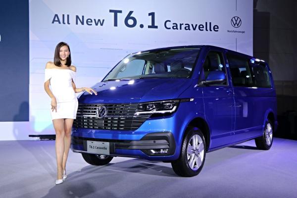 福斯商旅 T 系列改款終於導入台灣,T6.1 Caravelle 率先上市!