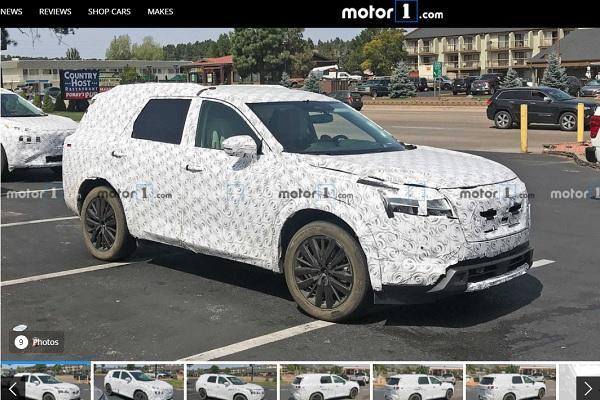 複製貼上新 X-Tail 內裝,新一代 Nissan Pathfinder 車室首曝!