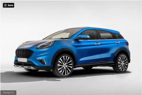 Ford 入門休旅 EcoSport 大改款,預測外觀樣式出爐!