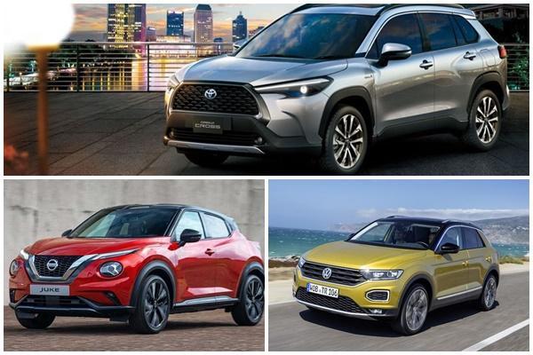 3 款國民重點休旅拚人氣,Corolla Cross、Juke、T-Roc 接連要上市!