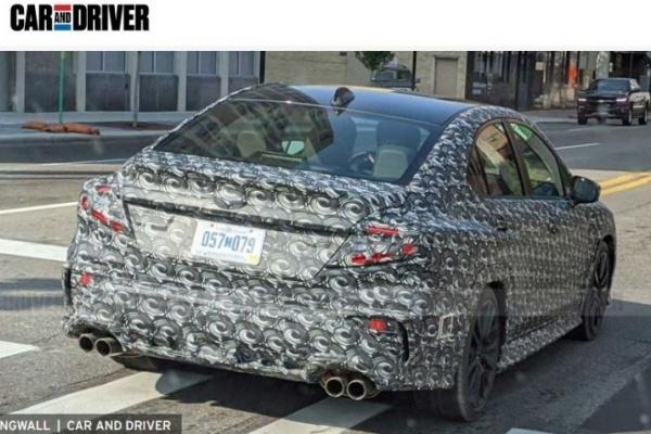 Subaru 新一代 WRX 終於現身!改搭 2.4 升渦輪動力