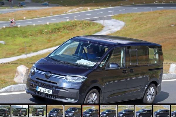 台灣才剛導入 T6.1 車系,VW 新世代 T7 內裝、外觀全都露!