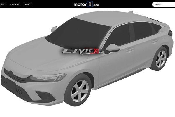 外型輪廓被看光,11 代大改款 Honda Civic 原廠草圖意外流出!