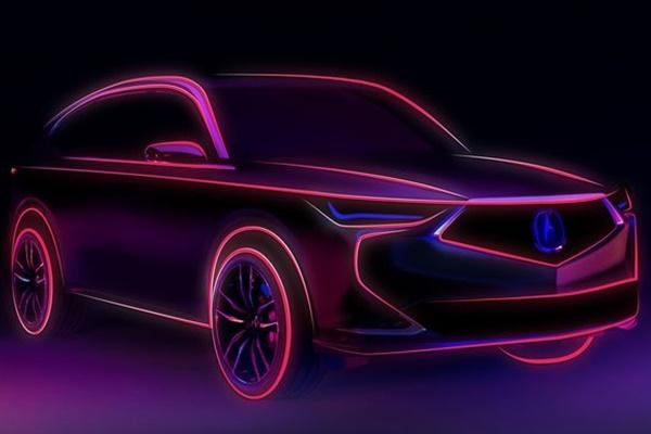 突襲發出預告,Honda 家族準備釋出新一代 MDX 休旅!
