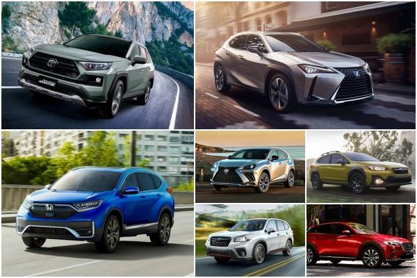 日系 SUV 稱霸榜單!消費者報告推薦:可靠又省油的 7 款中小型休旅