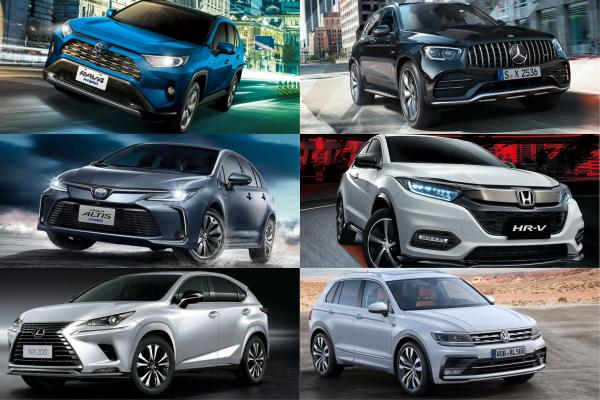 超過一半都是 SUV 休旅!台灣前 3 季新車銷售 Top 20 公佈