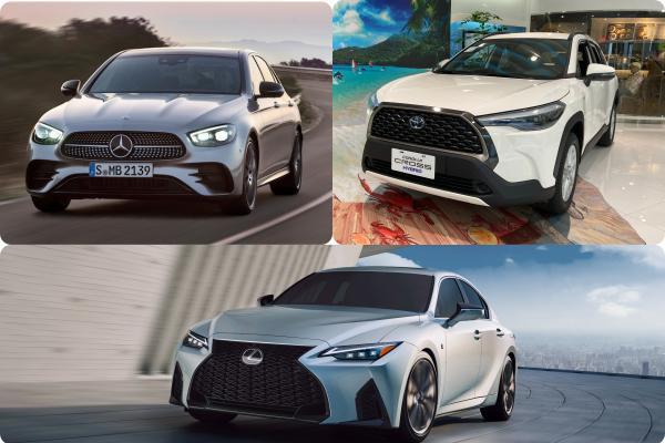 下週 3 款重量級新車發表!Toyota Corolla Cross 與賓士 E-Class 小改款台灣上市