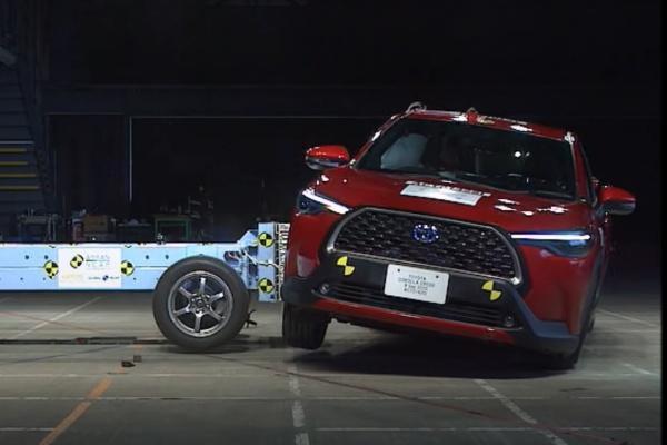 國產新車 Corolla Cross 今日上市,撞擊測試成績出爐!(內有影片)