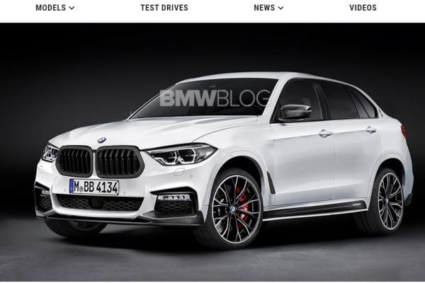 不僅僅是 X7 的斜背跑旅版本,BMW X8 外觀預想圖曝光!