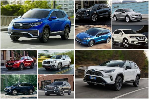 競爭激烈的中型 SUV 級距該選誰?美權威機構:這 10 款最推薦!