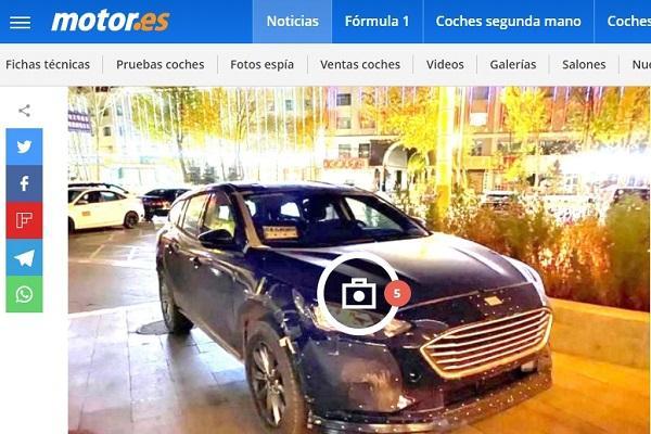 披著 Focus 外殼做測試,Ford 神秘車曝光!
