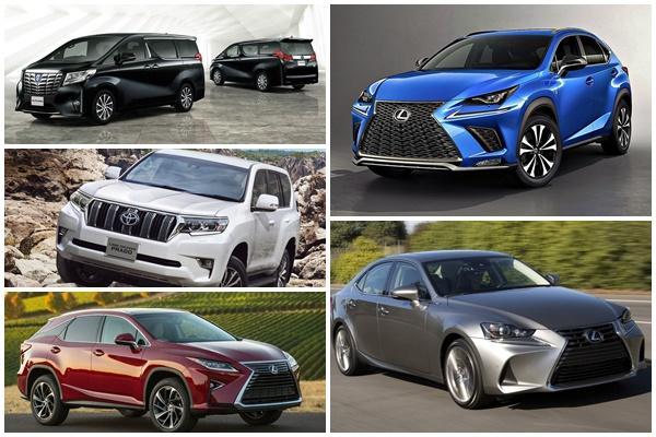 共計 39 個車系、21 萬輛受到影響,日 Toyota/Lexus 公告召回通知!