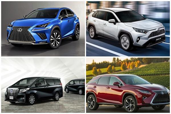 台灣影響車型、數量未明,美日 Toyota/Lexus 大規模召回多款車!