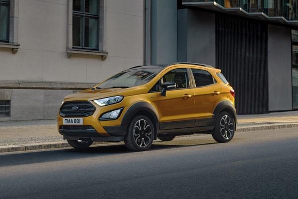 跨界休旅新戰力,Ford EcoSport Active 登場!
